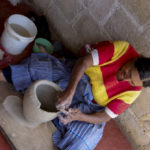 Lady making Clay Pot, Chiapas, Mexico